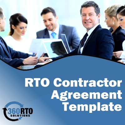 360 deal contract template - rto contractor agreement template 360 rto compliance