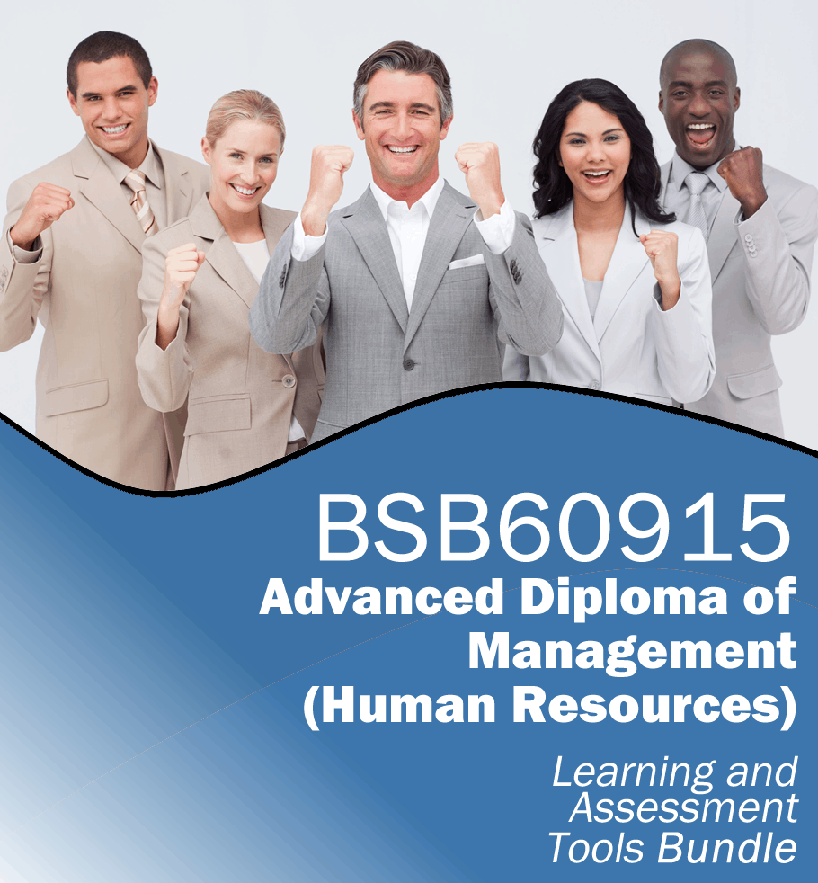 BSB60915 Advanced Diploma of Management (Human Resources) Learning and Assessment Tools Bundle.fw