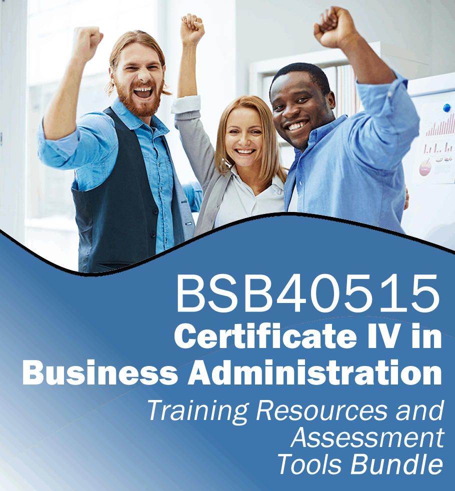 Certificate iv in project management learning resources bsb41515 learning and assessment tools bundle for bsb40515 certificate iv in business administration xflitez Image collections
