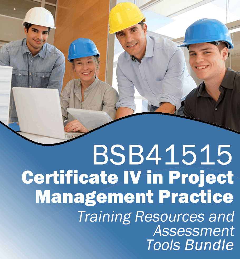 Certificate iv in project management learning resources bsb41515 certificate iv in project management practice training resources and assessment tools bsb41515fw xflitez Image collections