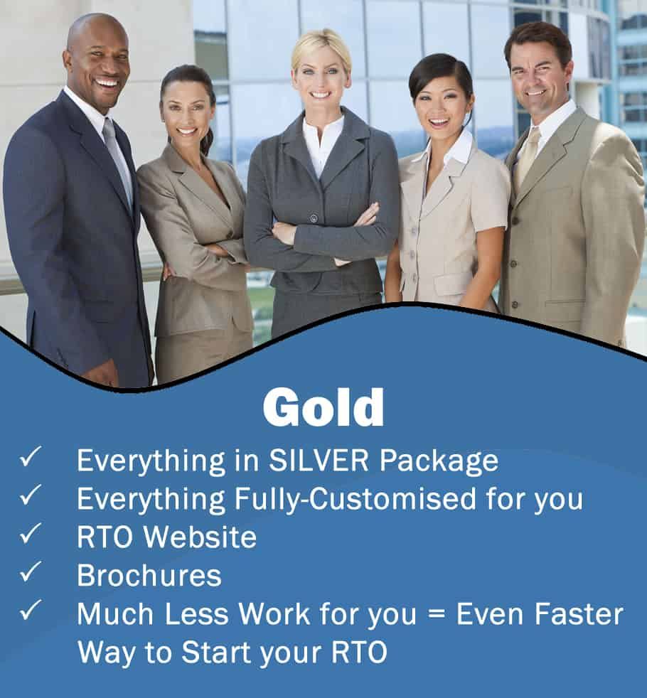 RTO Registration – Gold Package