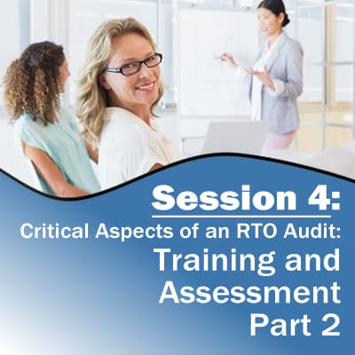 Session 4: Training and Assessment (Part 2)
