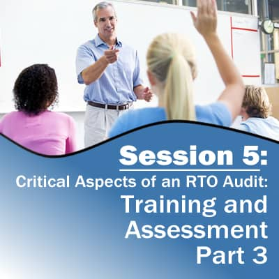 Session 5: Training and Assessment (Part 3)