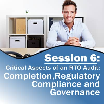 Session 6: Completion, Regulatory Compliance and Governance