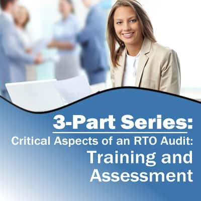Training and Assessment 3-Part Series