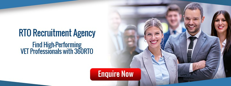 Find high-performing VET Professionals with 360 RTO Recruitment Agency
